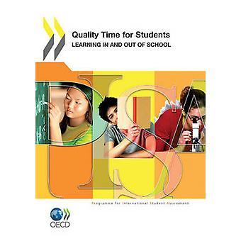 Tempo de qualidade PISA para alunos de aprendizagem dentro e fora da escola por publicação da OCDE