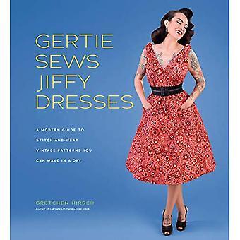 Gertie syr Jiffy klänningar