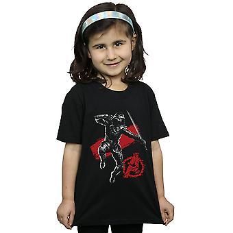 Marvel Girls Avengers Endgame Mono Ronin T-Shirt