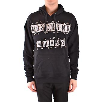 Moschino Ezbc015075 Men's Black Cotton Sweatshirt