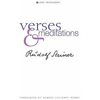 Verses and Meditations by Rudolf Steiner - G. Adams - M. Adams - 9781