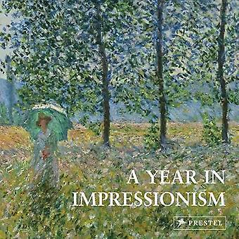 Vuosi impressionismi - 9783791384597 Kirja
