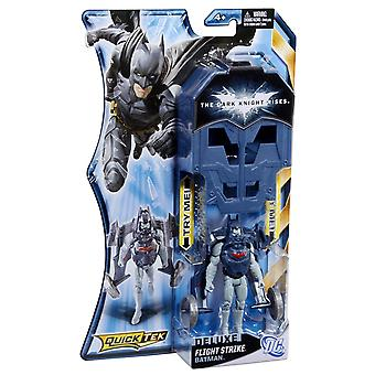The Dark Knight stijgt Deluxe Quicktek figuur-Flight Strike