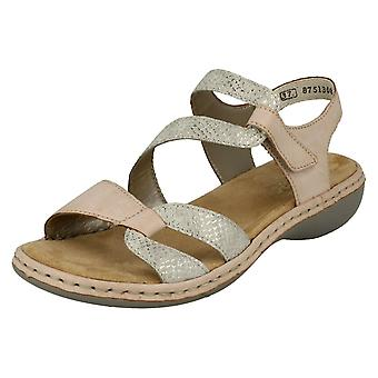 LaDie Rouen Casual Slingback sandalen 65969-81 - Rosa synthetische - UK maat 6,5 - EU maat 40 - US maat 8,5