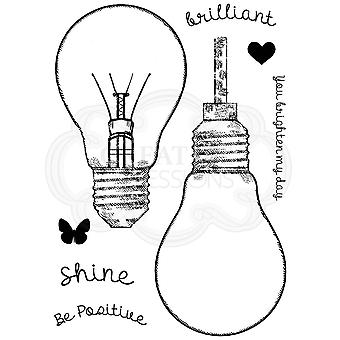 Woodware Fill Me Lightbulb Clear Stamp Set