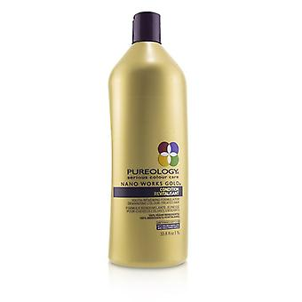 Pureology Nano Works Gold Condition (youth-renewing Formula For Demanding Colour-treated Hair) - 1000ml/33.8oz