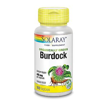 Solaray Orgaincally Grown Burdock Root Vcaps 100 (52321)