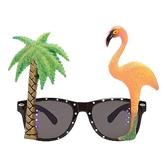 Bristol nyhed unisex voksne Flamingo Palm Tree briller