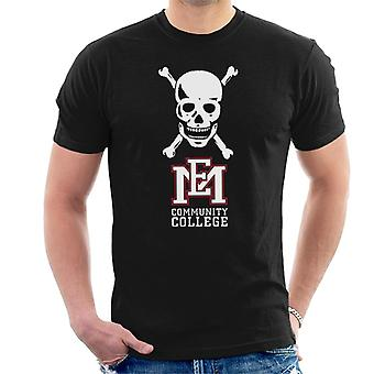 East Mississippi Community College Skull Logo Men's T-Shirt