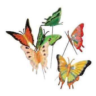 Bricomed Butterfly mixed colors (Garden , Garden decoration , Garden decorations)