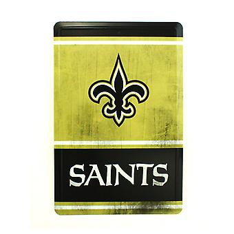 New Orleans Saints NFL Team Logo Tin Sign