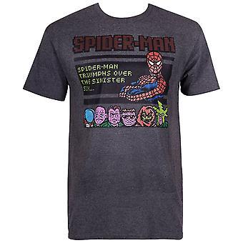 Spider-Man Arcade Style Men's T-Shirt