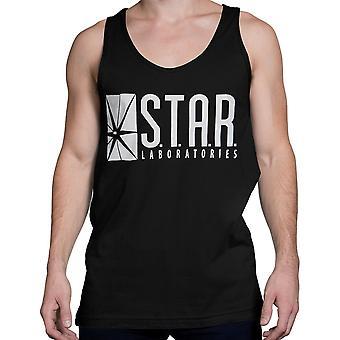 Camiseta Flash Star Labs Black Tank