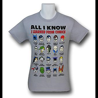 JLA All I Know camiseta gris