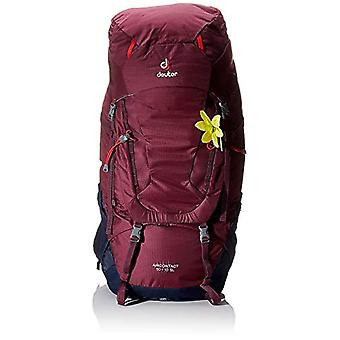 Deuter Aircontact 50 th 10 SL Backpack Casual 80 centimeters 60 Multicolor (Blackberry-Navy)