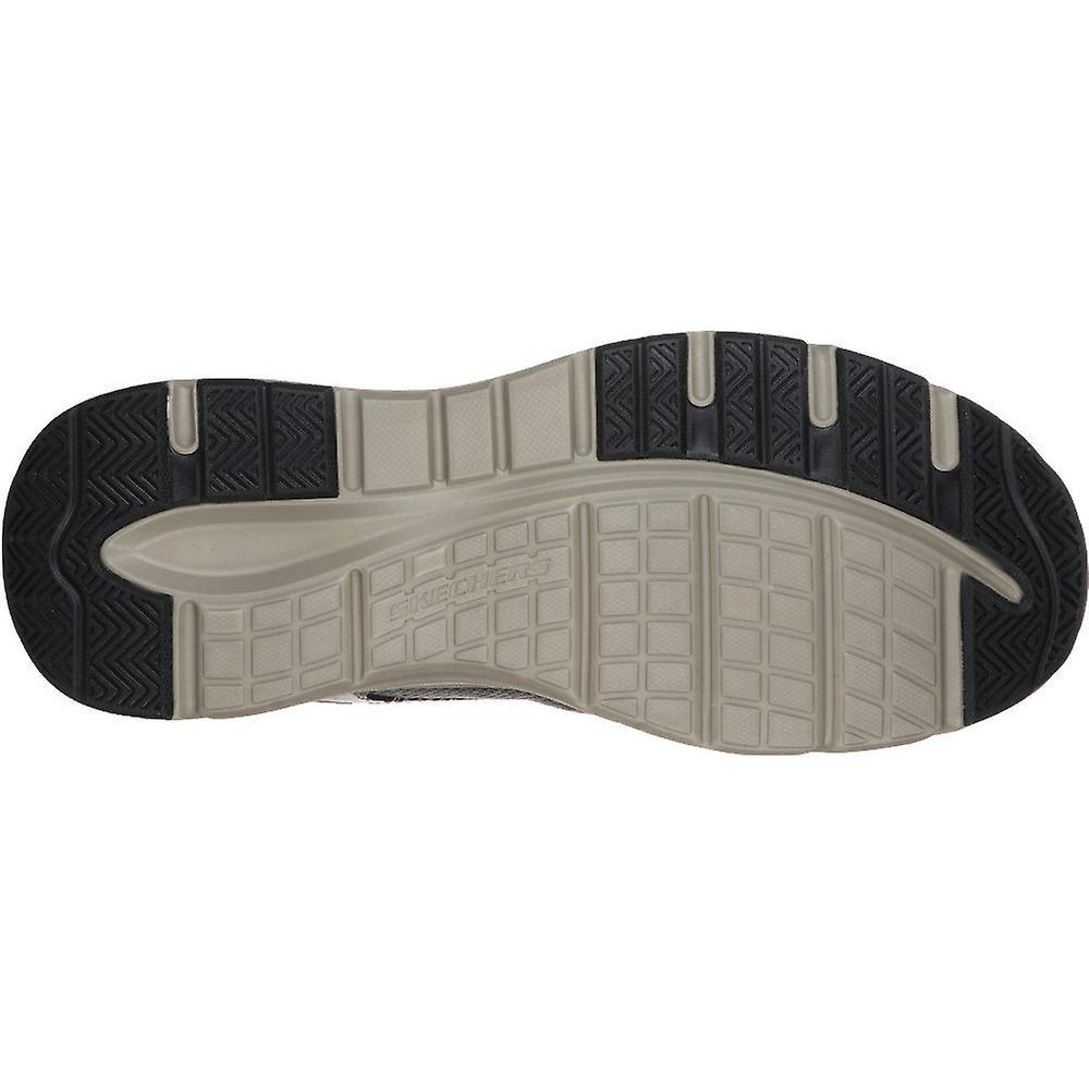 Skechers Mens Sentinal Lunder Cuir Lace Up Chaussures décontractées - Remise particulière