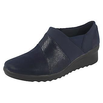 Sapatos de salto Caddell Denali da Cunha Cloudsteppers senhoras por Clarks
