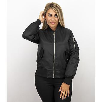 Bomberjack Donna-Bomber giacca donna-nero