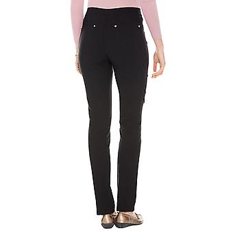 Ladies Womens Stretch Trouser Slim Fitting