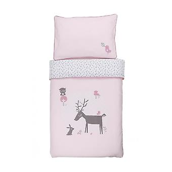 Bed instellen winter en Bloom Cradle forest vrienden Blossom