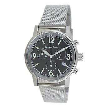 Aristo Men's Messerschmitt Watch Chronograph ME-1624M Stainless Steel