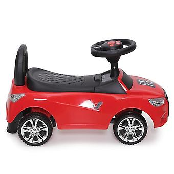 Children's car, go-on car Go Ride C, storage compartment, tilt protection, music and horn, backrest