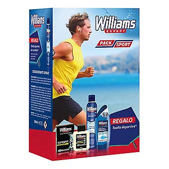 Set Personal Hygiene for Men Pack Sport Williams (4 pcs)