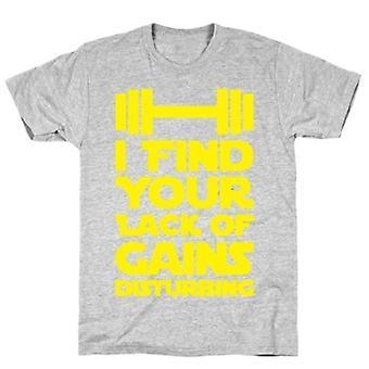 Je trouve votre manque de gains inquiétant t-shirt