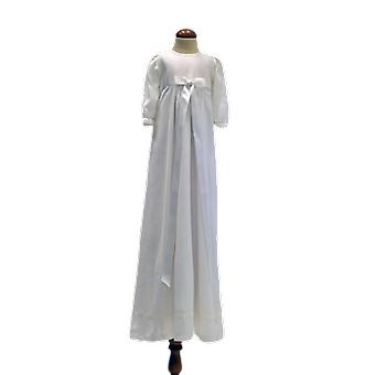Christened dress With White Broad Bow, Grace Of Sweden Pr.la