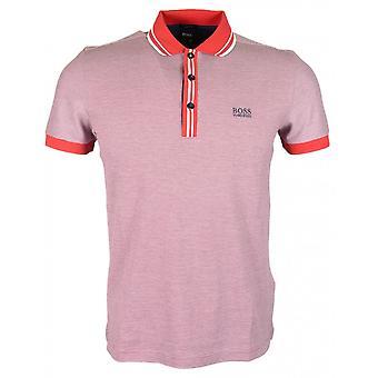 Hugo Boss Paddy 2 Slim Fit PIMA coton Polo rouge