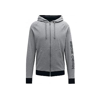 Hugo Boss Leisure Wear Hugo Boss Men's Medium Grey Hooded Tracksuit