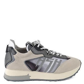 Ash TIGER Trainers Grey Suede & Leather