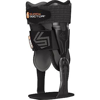 Shock Doctor V-Flex Advanced Hinged Ankle Brace - Black