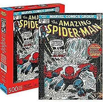 Pussel-Marvel-Spider-man Cover 500Pc nya licensierade 62158