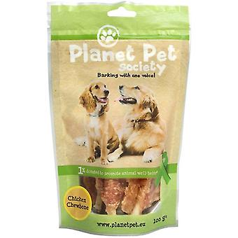 Planet Pet Snack Chewbone Pollo (Dogs , Treats , Chewy and Softer Treats)