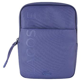 Lacoste Small Flat Crossover Bag - Blue Depths