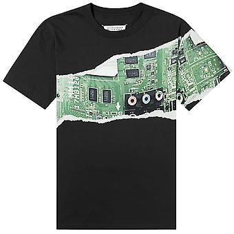 Maison Margiela 10 Graphic Paper Print T-Shirt
