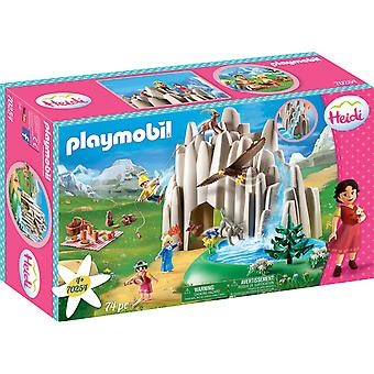 Playmobil 70254 Heidi Kristal Göl 74PC Playset