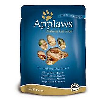Applaws Tuna & Sea Bream Pouch (Cats , Cat Food , Wet Food)