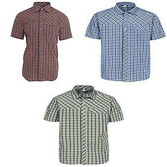 トレスパス メンズ ジュバ半袖カジュアル シャツ