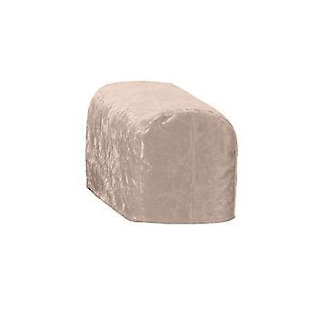 Grande formato tartufo schiacciato velluto braccio cappuccio sedia cover Protector Slipcover Divano