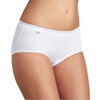 Sloggi basic+ premium comfort tai 4 pack white