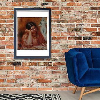 Pierre Auguste Renoir - Liseuse e la Venus Poster Print Giclee