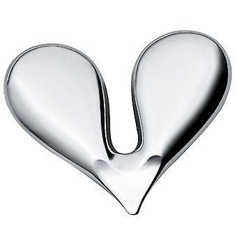 Alessi Nutcracker nut splitter in heart shape made of stainless steel - JHT01