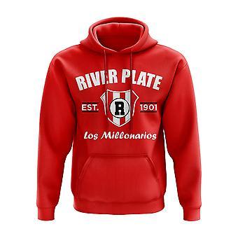 River Plate Etableret Hoody (Rød)