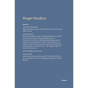 HegelStudien  HegelStudien Band 35 2000 by Pggeler & Otto