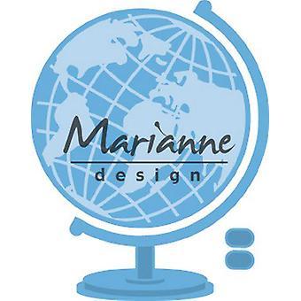 Marianne Design Creatable Cutting Dies – Globe LR0606 123.5x81.5 mm