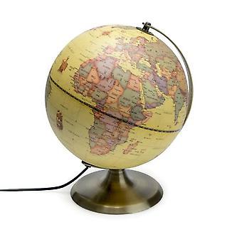 Antique Globe-globe with lamp