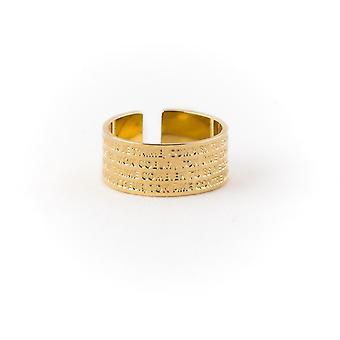 Ley Nat Hugo Ring 3 dore