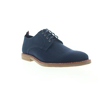 Ben Sherman Birk Plain Toe Miesten Sininen Canvas Low Top Oxfords Kengät